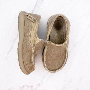 Crocs Preschool Santa Cruz II Loafer Sneakers C8